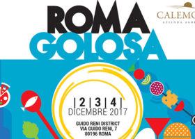 L'AZIENDA AGRICOLA CALEMONE SARÀ PRESENTE A ROMA GOLOSA DAL 2 AL 4 DICEMBRE 2017