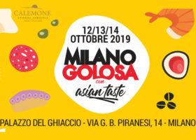 L'Azienda Agricola Calemone sarà presente a Milano Golosa dal 12 al 14 Ottobre 2019